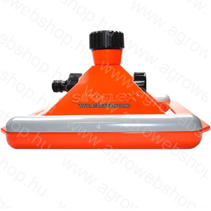 SIROFLEX/4630/ SPRAY FEJES 360 FOKOS TALPAS ÖNTÖZŐ - nyomástól függően 4,5 méteres szorósugarú műanyag permetszoró locsoló. Siroflex olasz gyártás.
